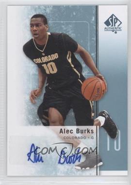 2011-12 SP Authentic Autograph [Autographed] #18 - Alec Burks