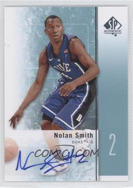 2011-12 SP Authentic Autograph [Autographed] #22 - Nolan Smith