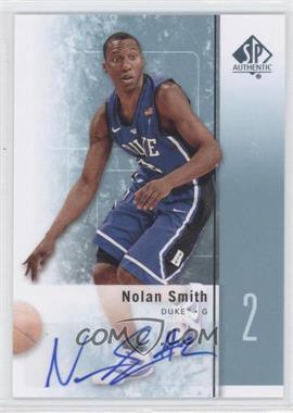 2011-12 SP Authentic Autograph [Autographed] #22 - Nolan Smith