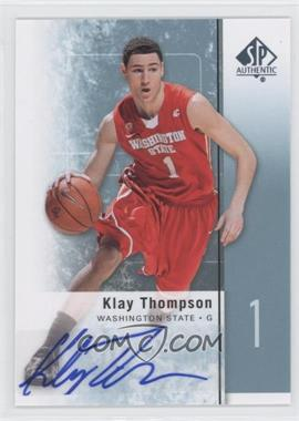 2011-12 SP Authentic Autograph [Autographed] #23 - Klay Thompson