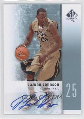 2011-12 SP Authentic Autograph [Autographed] #25 - JaJuan Johnson