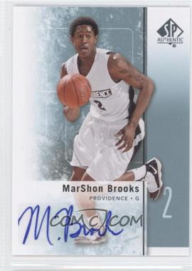 2011-12 SP Authentic Autograph [Autographed] #29 - MarShon Brooks