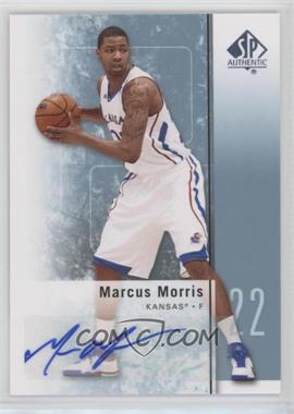 2011-12 SP Authentic Autograph [Autographed] #31 - Marcus Morris