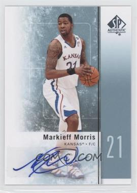 2011-12 SP Authentic Autograph [Autographed] #32 - Markieff Morris