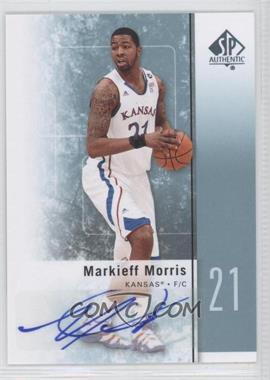 2011-12 SP Authentic Autograph [Autographed] #32 - Markieff Morris