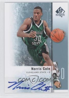 2011-12 SP Authentic Autograph [Autographed] #33 - Norris Cole