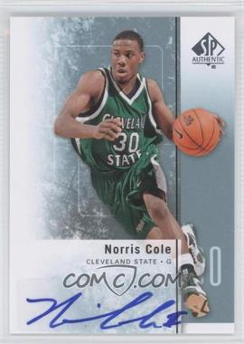 2011-12 SP Authentic Autograph [Autographed] #33 - Norris Cole
