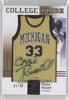 Cazzie Russell /40