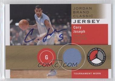 2011-12 SP Authentic Jordan Brand Classic Jersey Autographs [Autographed] #JBC-CJ - Cory Joseph