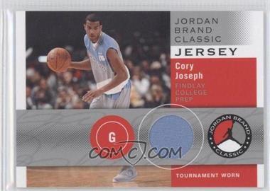 2011-12 SP Authentic Jordan Brand Classic Jersey #JBC-CJ - Cory Joseph