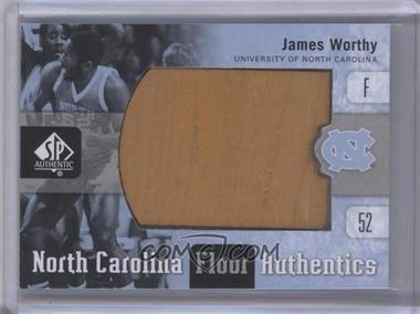 2011-12 SP Authentic North Carolina Floor Authentics #UNC-JW - James Worthy
