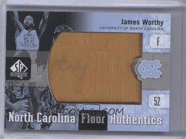 2011-12 SP Authentic North Carolina Floor Authentics #UNC-WO - James Worthy