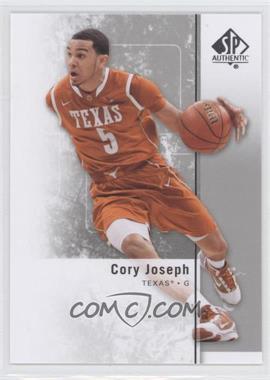 2011-12 SP Authentic #34 - Cory Joseph
