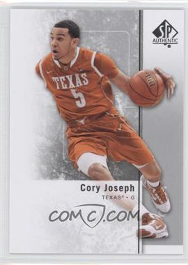 2011-12 SP Authentic #34 - Cory Joseph