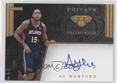 2011-14 Panini - Multi-Product/Multi-Year Insert Private Signings - [Autographed] #PS-AHF - Al Horford
