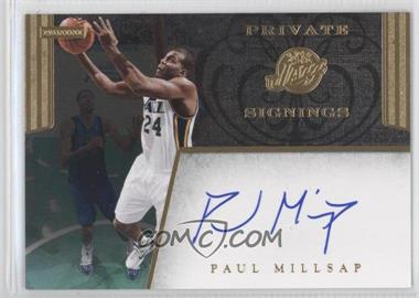 2011-14 Panini - Multi-Product/Multi-Year Insert Private Signings - [Autographed] #PS-PM - Paul Millsap