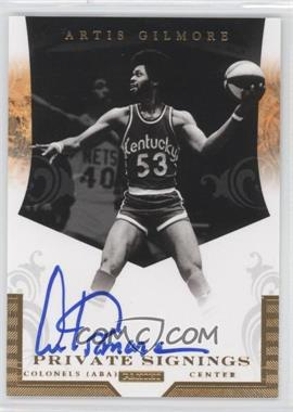 2011-14 Panini Multi-Product/Multi-Year Insert Private Signings [Autographed] #PS-ARG - Artis Gilmore /148