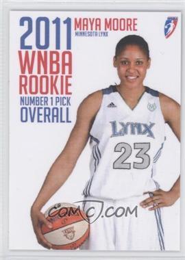 2011 Rittenhouse WNBA Rookies #1 - Maya Moore /225