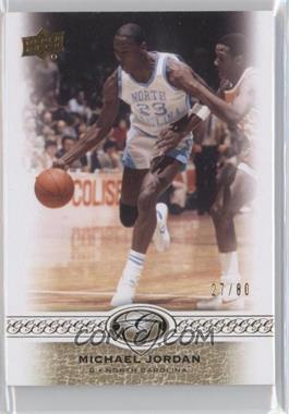 2011 Upper Deck All-Time Greats - [Base] #10 - Michael Jordan /80