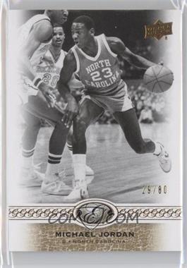 2011 Upper Deck All-Time Greats - [Base] #13 - Michael Jordan /80
