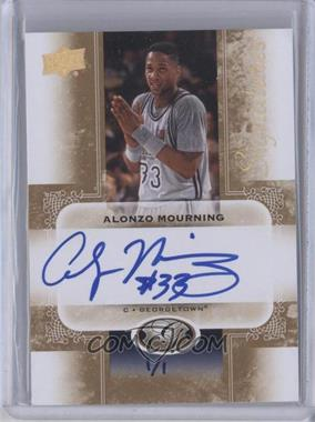 2011 Upper Deck All-Time Greats Signatures Gold Spectrum [Autographed] #AGS-AM1 - Alonzo Mourning /1