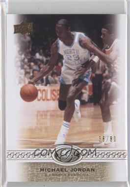 2011 Upper Deck All-Time Greats #10 - Michael Jordan /80
