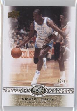 2011 Upper Deck All-Time Greats #10 - Michael Jordan /80