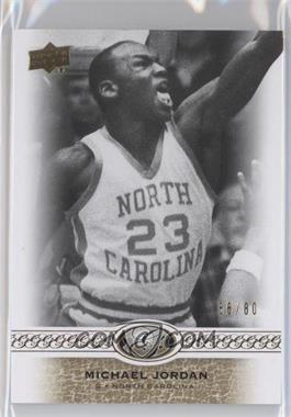 2011 Upper Deck All-Time Greats #15 - Michael Jordan /80