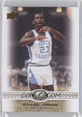 2011 Upper Deck All-Time Greats #23 - Michael Jordan /80