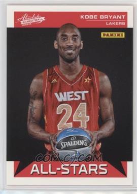 2012-13 Absolute - All-Stars #8 - Kobe Bryant