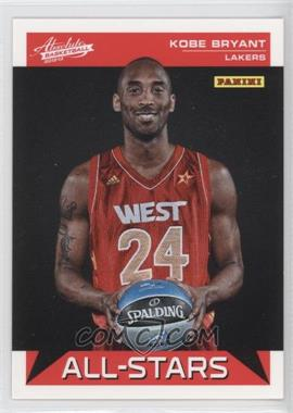 2012-13 Absolute All-Stars #8 - Kobe Bryant