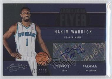 2012-13 Absolute Frequent Flyer Autographs #15 - Hakim Warrick /149