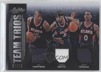 Josh Smith, Al Horford, Jeff Teague /10