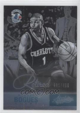 2012-13 Absolute #128 - Muggsy Bogues /499