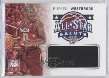 2012-13 Elite - All-Star Salute Materials #10 - Russell Westbrook