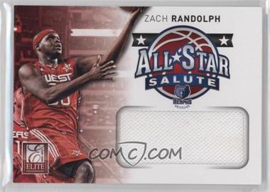 2012-13 Elite - All-Star Salute Materials #25 - Zach Randolph