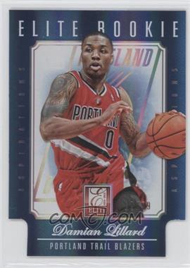 2012-13 Elite - [Base] - Aspirations Die-Cut #257 - Damian Lillard /99