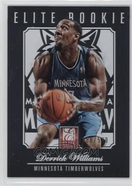2012-13 Elite - [Base] #202 - Derrick Williams /599