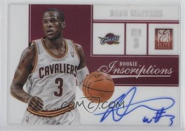 2012-13 Elite - Rookie Inscriptions #31 - Dion Waiters