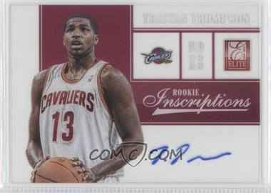 2012-13 Elite - Rookie Inscriptions #49 - Tristan Thompson