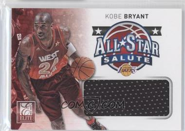 2012-13 Elite All-Star Salute Materials #1 - Kobe Bryant
