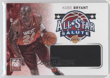 2012-13 Elite All-Star Salute Materials #1 - Kobe Bryant