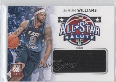 2012-13 Elite All-Star Salute Materials #11 - Deron Williams