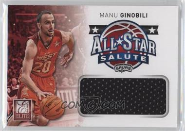 2012-13 Elite All-Star Salute Materials #15 - Manu Ginobili