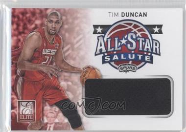 2012-13 Elite All-Star Salute Materials #17 - Tim Duncan
