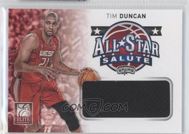 2012-13 Elite All-Star Salute Materials #17 - Tim Duncan