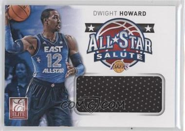 2012-13 Elite All-Star Salute Materials #2 - Dwight Howard