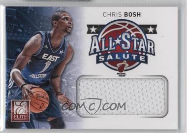 2012-13 Elite All-Star Salute Materials #22 - Chris Bosh