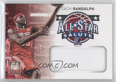 2012-13 Elite All-Star Salute Materials #25 - Zach Randolph