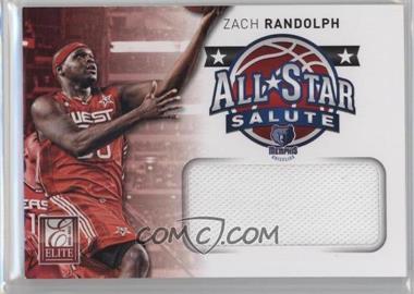 2012-13 Elite All-Star Salute Materials #25 - Zach Randolph